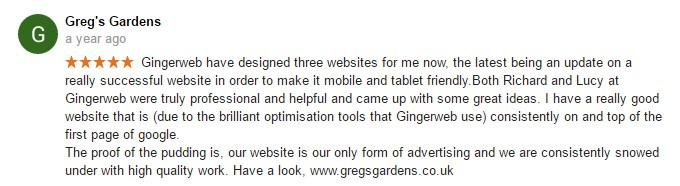 Greg De Freyne-Martin from http://www.gregsgardens.co.uk/