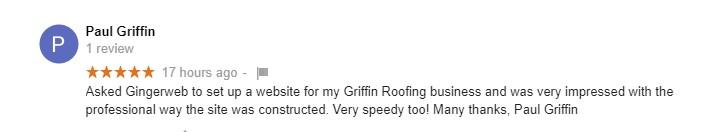 griffin roofing review