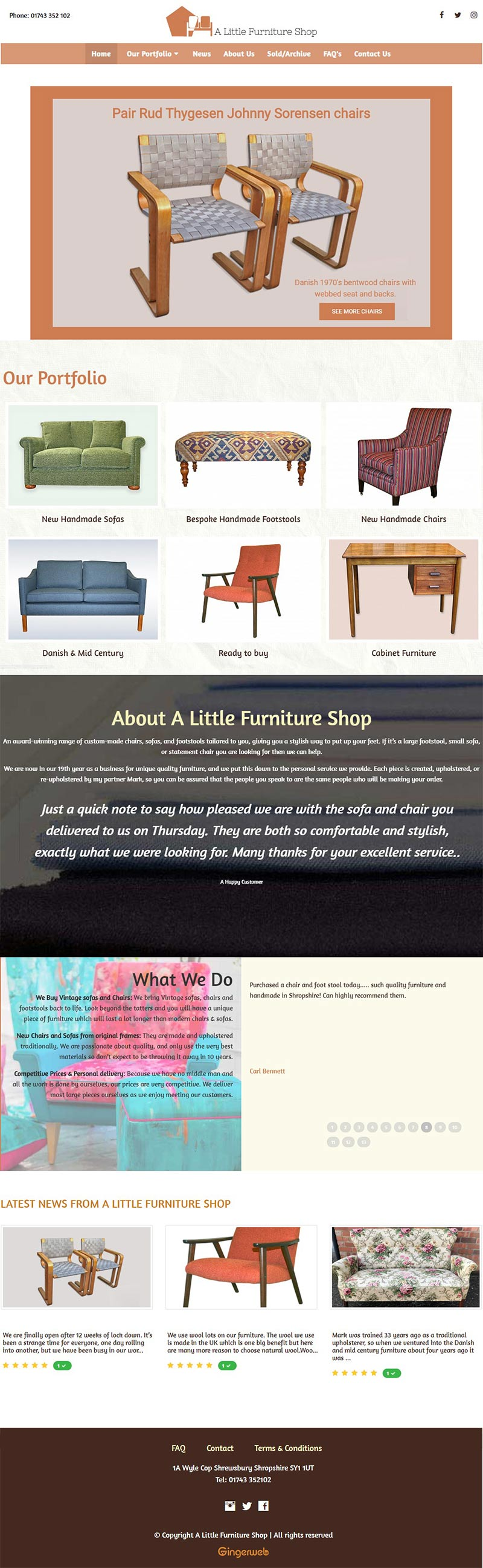 A Little Furniture Shop